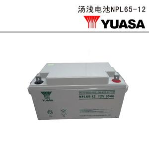 汤浅电池NPL65-12
